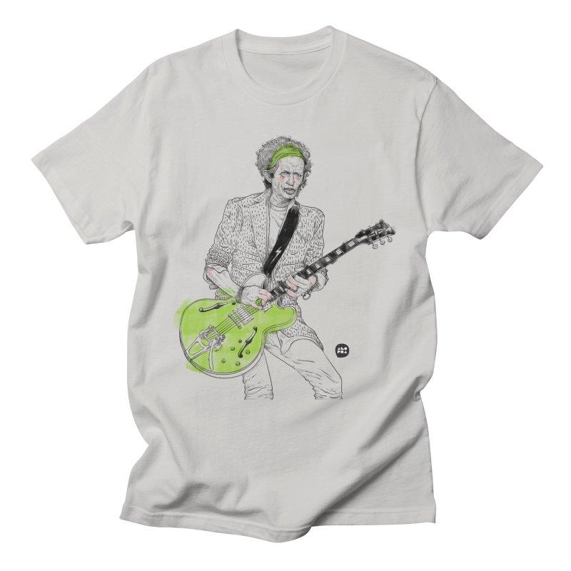 Alopra Studio`s Keith Richards Men's T-Shirt by Alopra's Shop