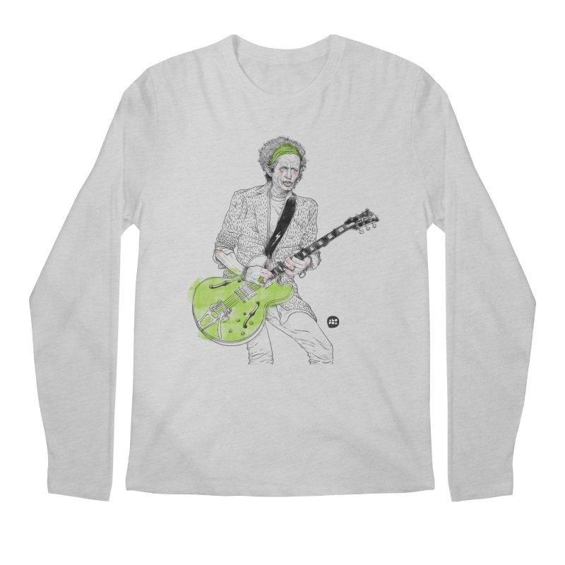 Alopra Studio`s Keith Richards Men's Longsleeve T-Shirt by Alopra's Shop