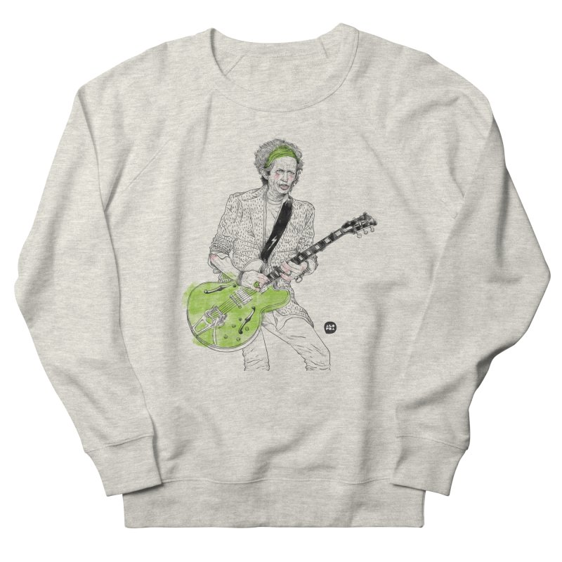 Alopra Studio`s Keith Richards Men's Sweatshirt by Alopra's Shop