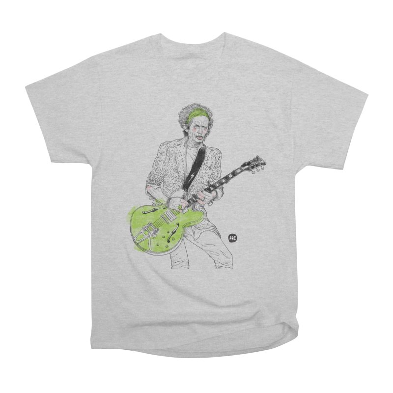 Alopra Studio`s Keith Richards Women's Heavyweight Unisex T-Shirt by Alopra's Shop