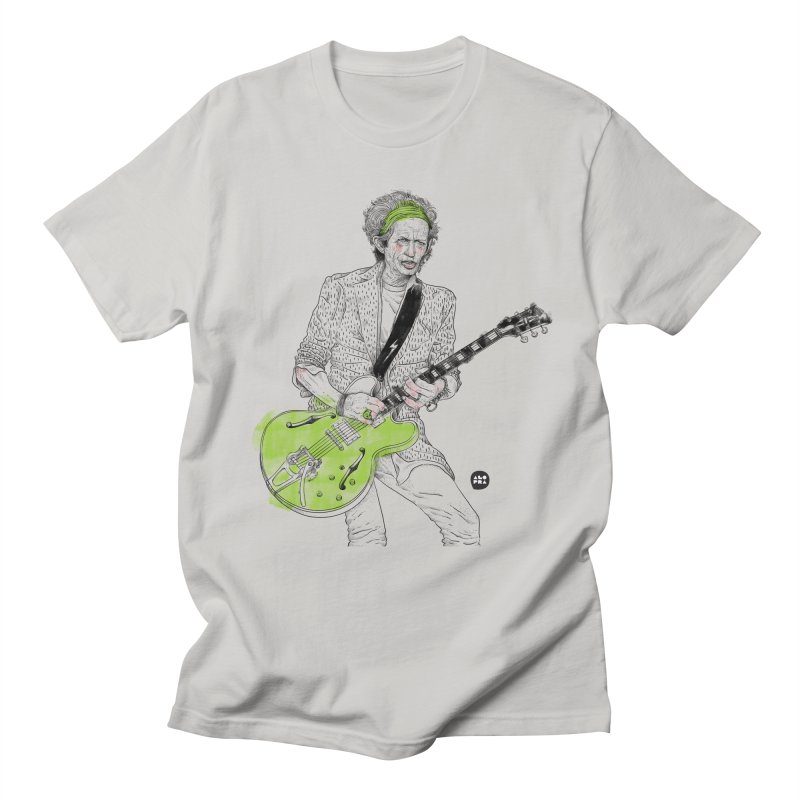 Alopra Studio`s Keith Richards Men's T-Shirt by Alopra's Shop