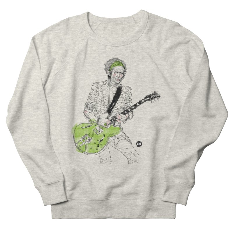 Alopra Studio`s Keith Richards Men's Sweatshirt by Alopra's Shop