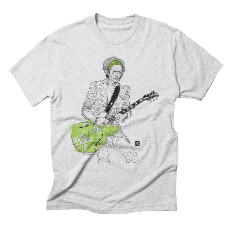Alopra Studio`s Keith Richards Men's Triblend T-Shirt by Alopra's Shop