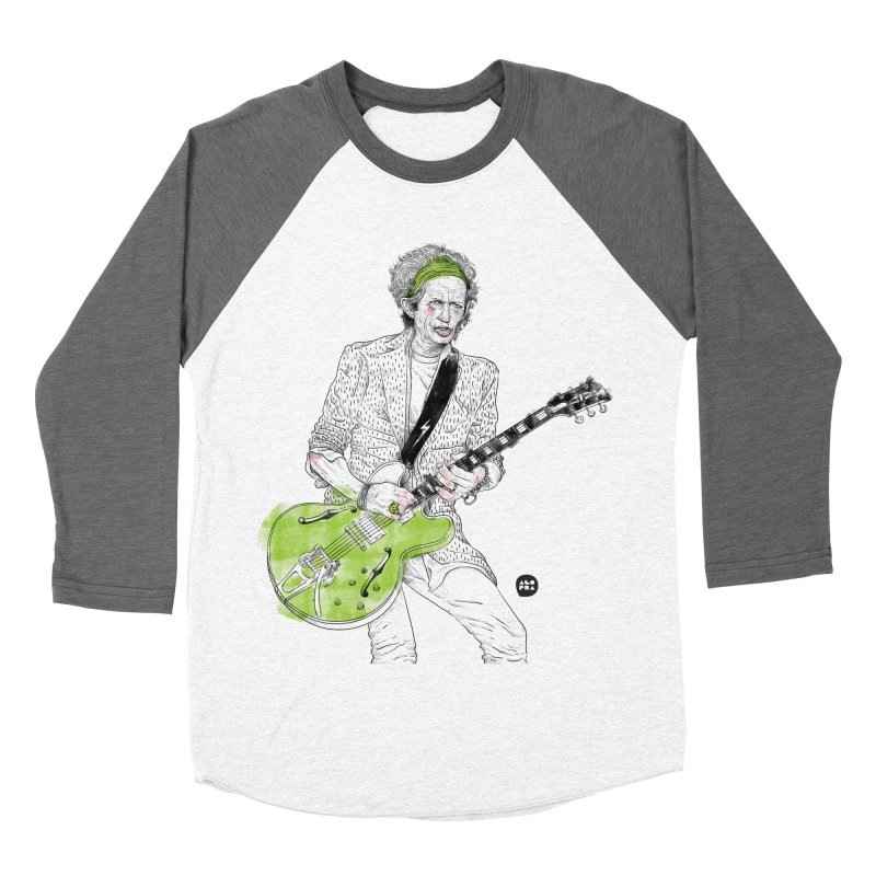 Alopra Studio`s Keith Richards Women's Longsleeve T-Shirt by Alopra's Shop