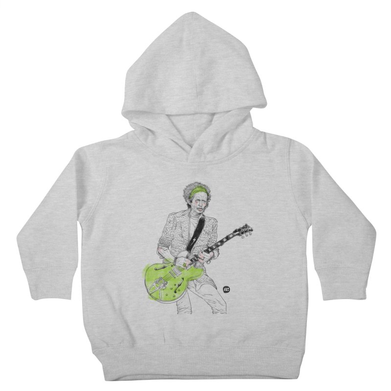 Alopra Studio`s Keith Richards Kids Toddler Pullover Hoody by Alopra's Shop
