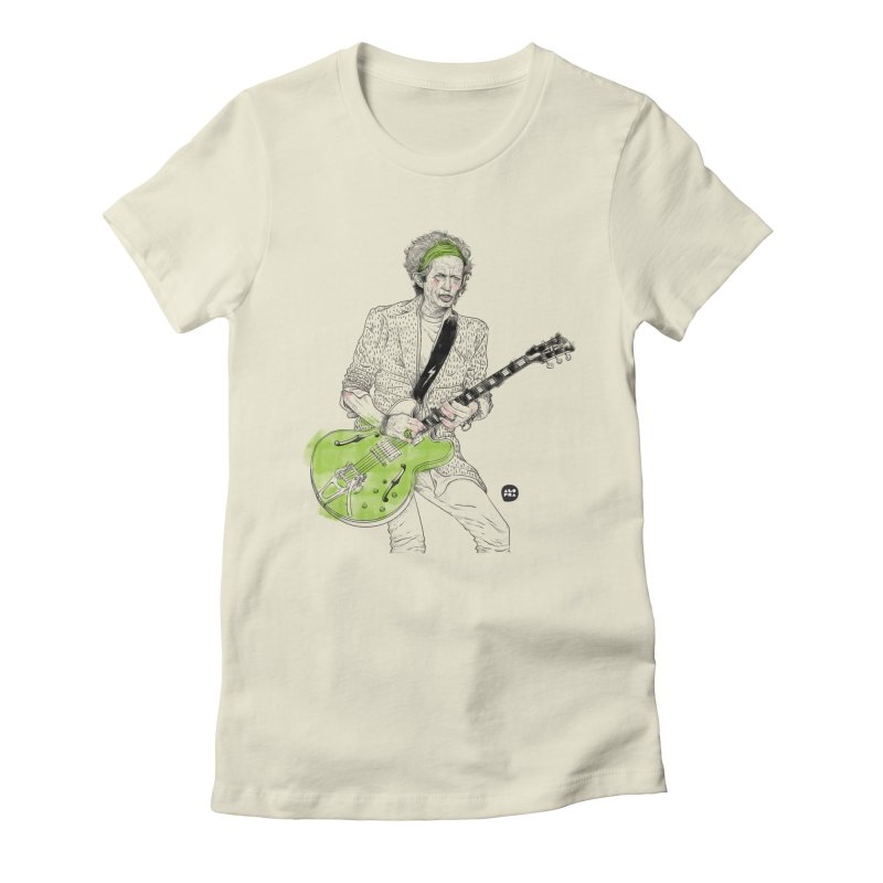 Alopra Studio`s Keith Richards Women's T-Shirt by Alopra's Shop