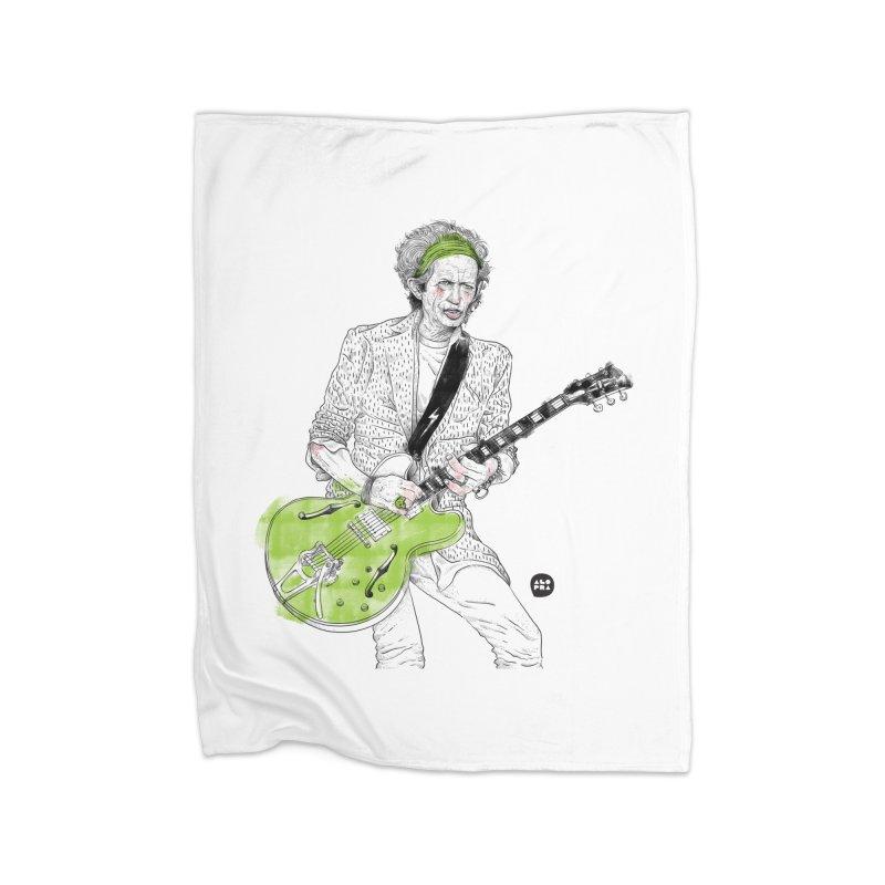 Alopra Studio`s Keith Richards Home Blanket by Alopra's Shop