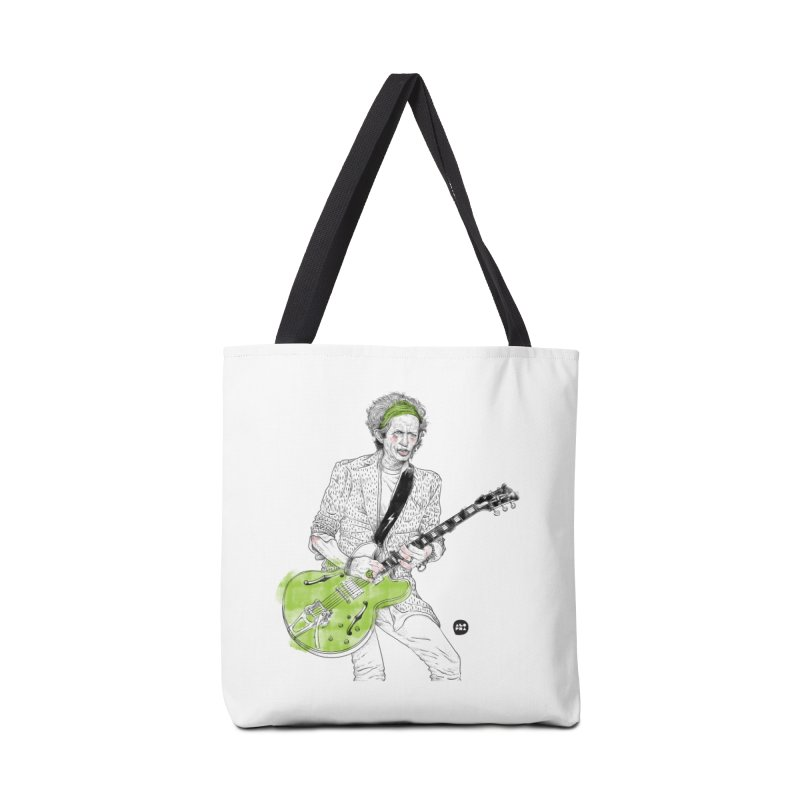 Alopra Studio`s Keith Richards Accessories Tote Bag Bag by Alopra's Shop