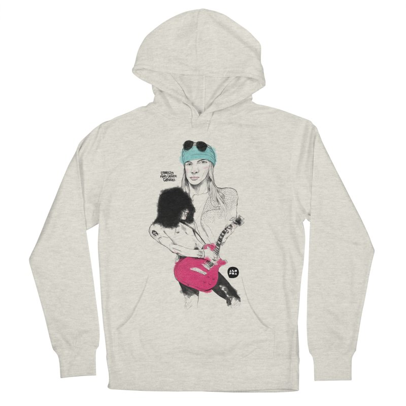 Alopra Studio`s Axl and Slash Women's French Terry Pullover Hoody by Alopra's Shop