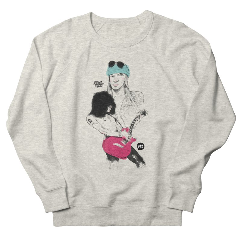 Alopra Studio`s Axl and Slash Women's Sweatshirt by Alopra's Shop