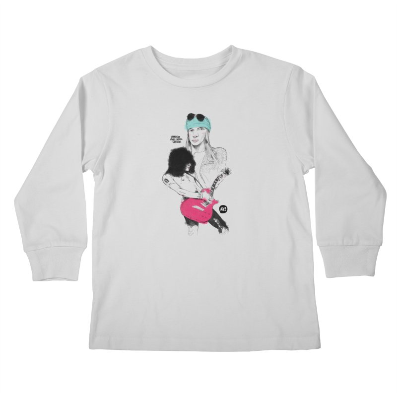 Alopra Studio`s Axl and Slash Kids Longsleeve T-Shirt by Alopra's Shop