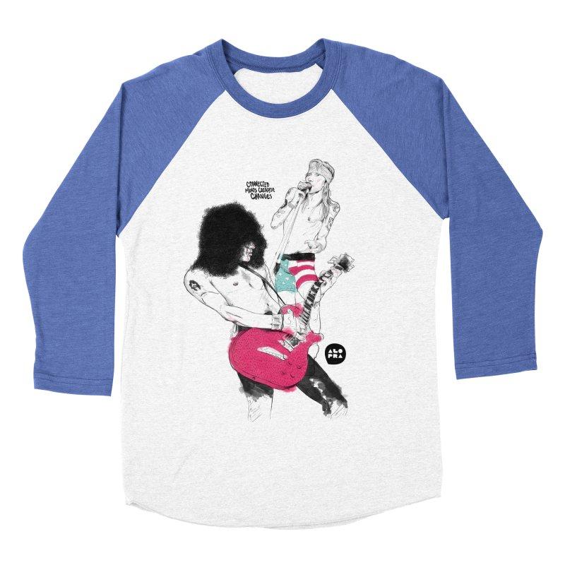 Alopra Studio`s Slash and Axl Women's Baseball Triblend T-Shirt by Alopra's Shop