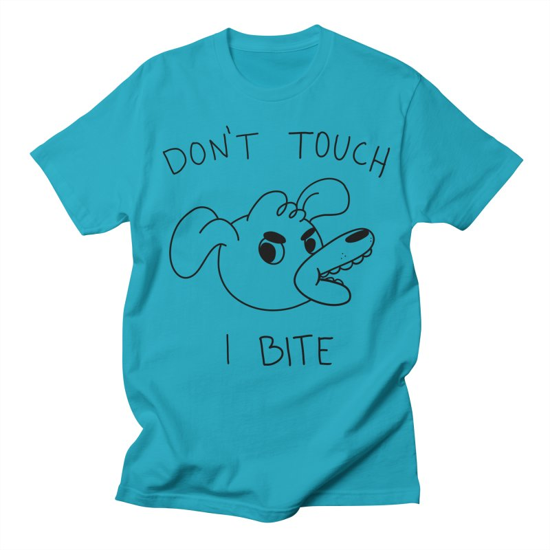 Don't touch, I bite! Women's Regular Unisex T-Shirt by Alpacaramba!