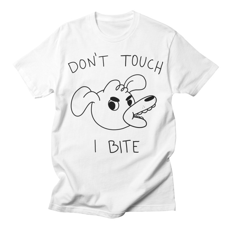 Don't touch, I bite! Men's Regular T-Shirt by Alpacaramba!