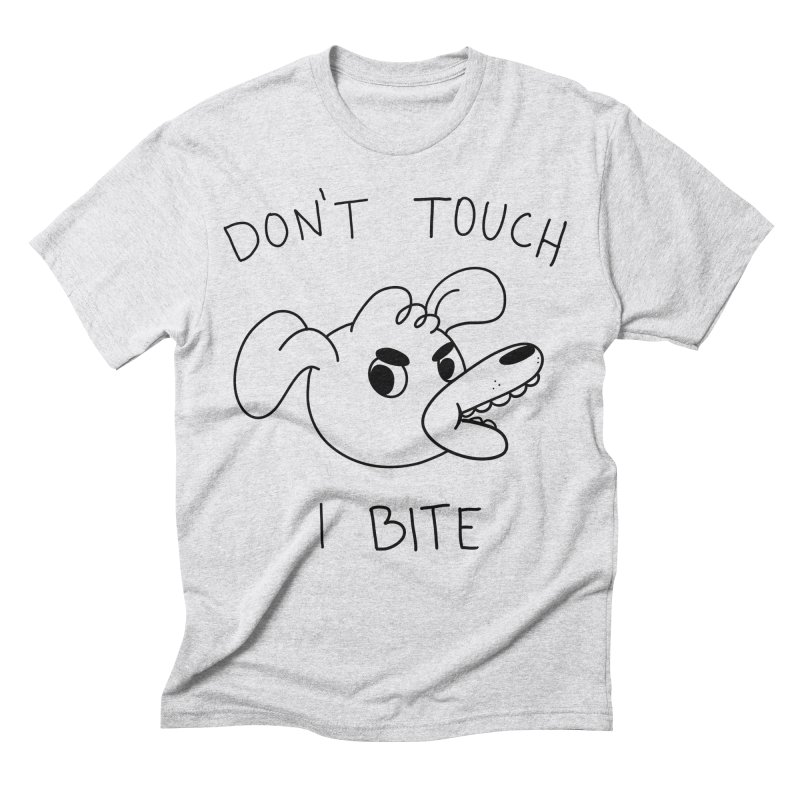 Don't touch, I bite! Men's Triblend T-Shirt by Alpacaramba!