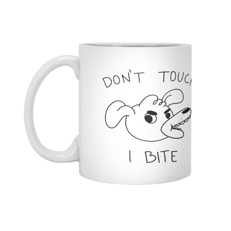 Don't touch, I bite! Accessories Mug by Alpacaramba!