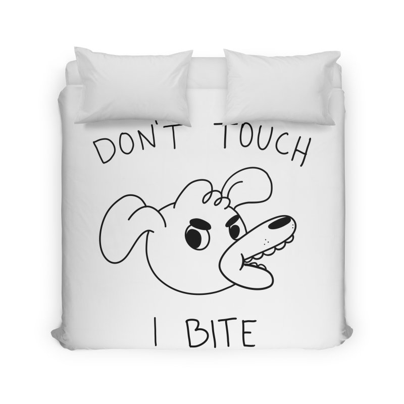 Don't touch, I bite! Home Duvet by Alpacaramba!