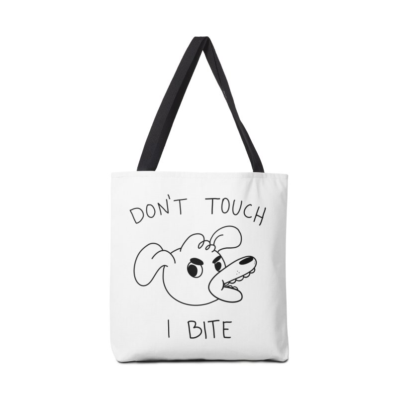 Don't touch, I bite! Accessories Bag by Alpacaramba!