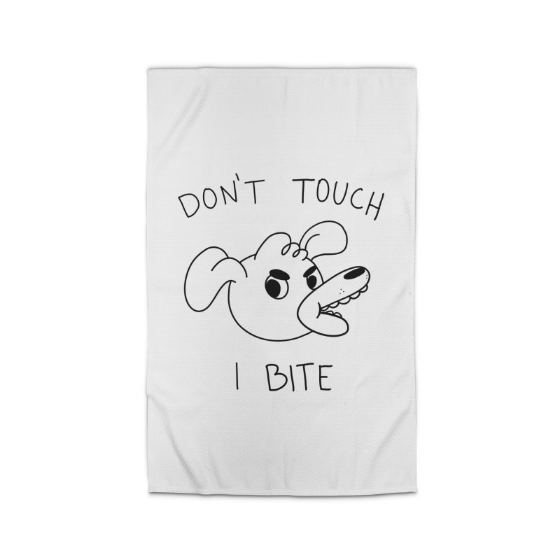 Don't touch, I bite! Home Rug by Alpacaramba!