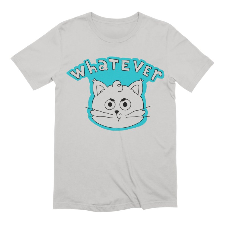 This cat does not care. Men's T-Shirt by Alpacaramba!