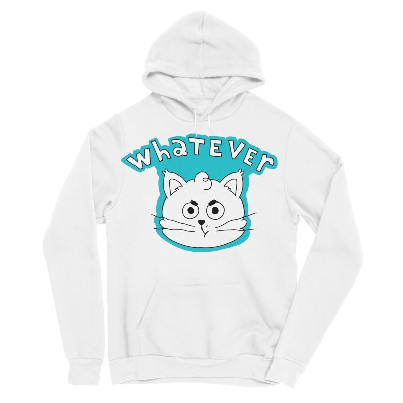 This cat does not care. Women's Sponge Fleece Pullover Hoody by Alpacaramba!