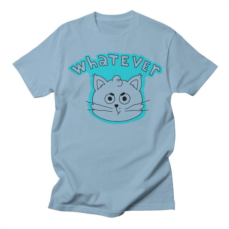 This cat does not care. Women's Regular Unisex T-Shirt by Alpacaramba!