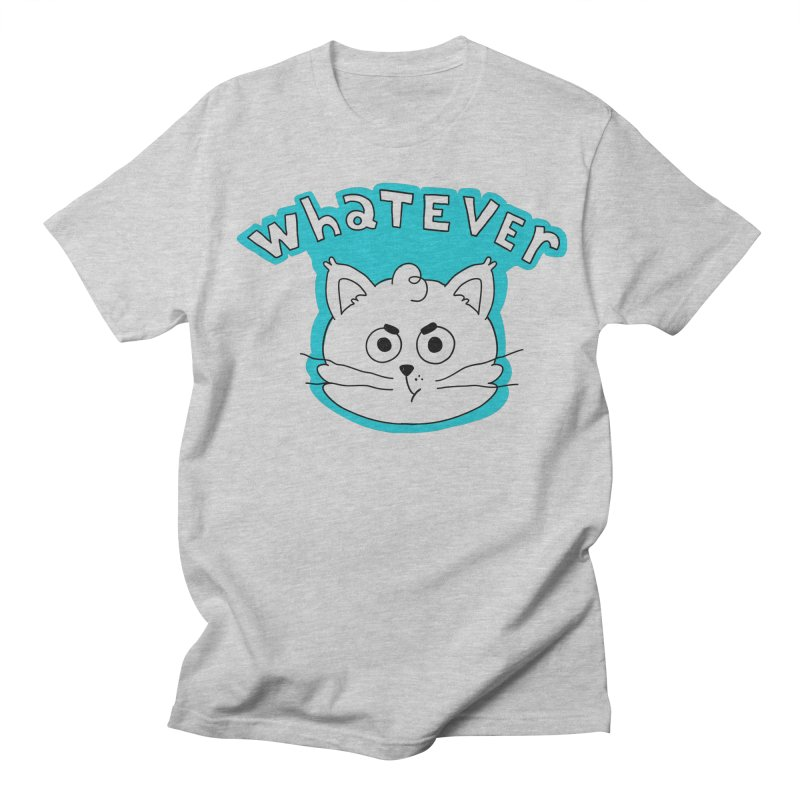 This cat does not care. Men's Regular T-Shirt by Alpacaramba!