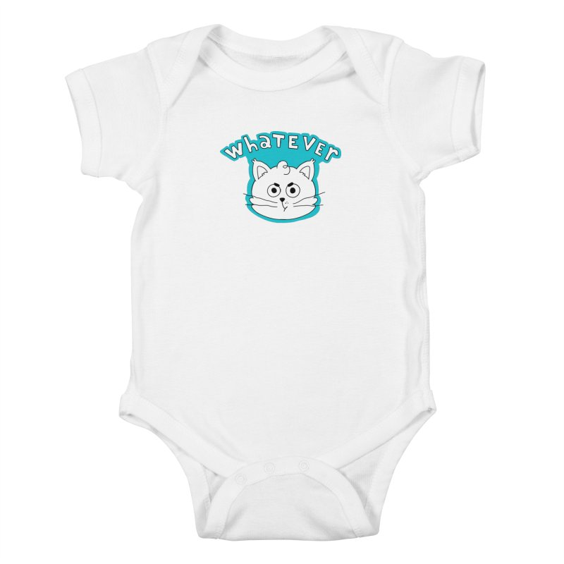 This cat does not care. Kids Baby Bodysuit by Alpacaramba!