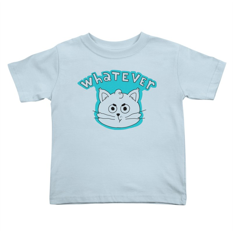 This cat does not care. Kids Toddler T-Shirt by Alpacaramba!