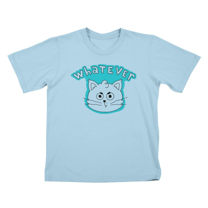 This cat does not care. Kids T-Shirt by Alpacaramba!