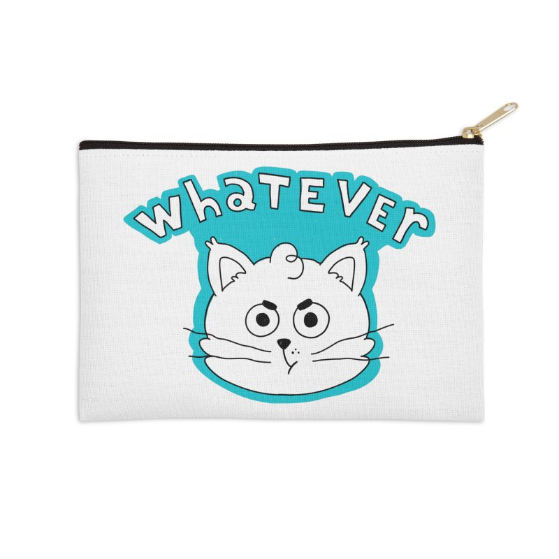 This cat does not care. Accessories Zip Pouch by Alpacaramba!