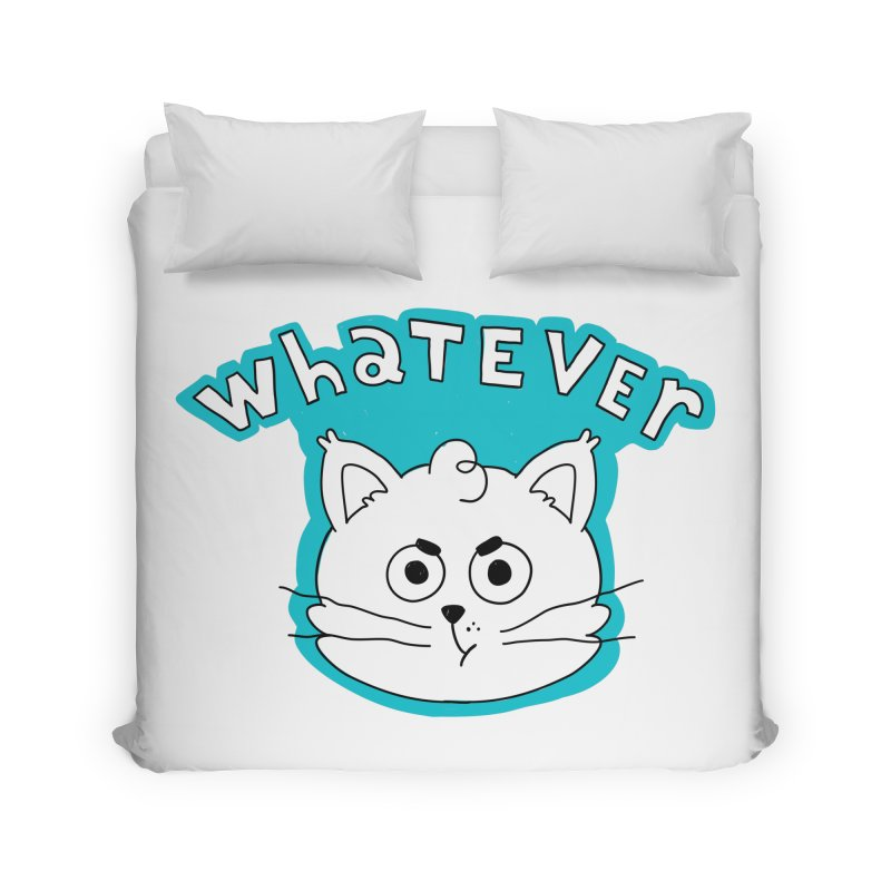This cat does not care. Home Duvet by Alpacaramba!