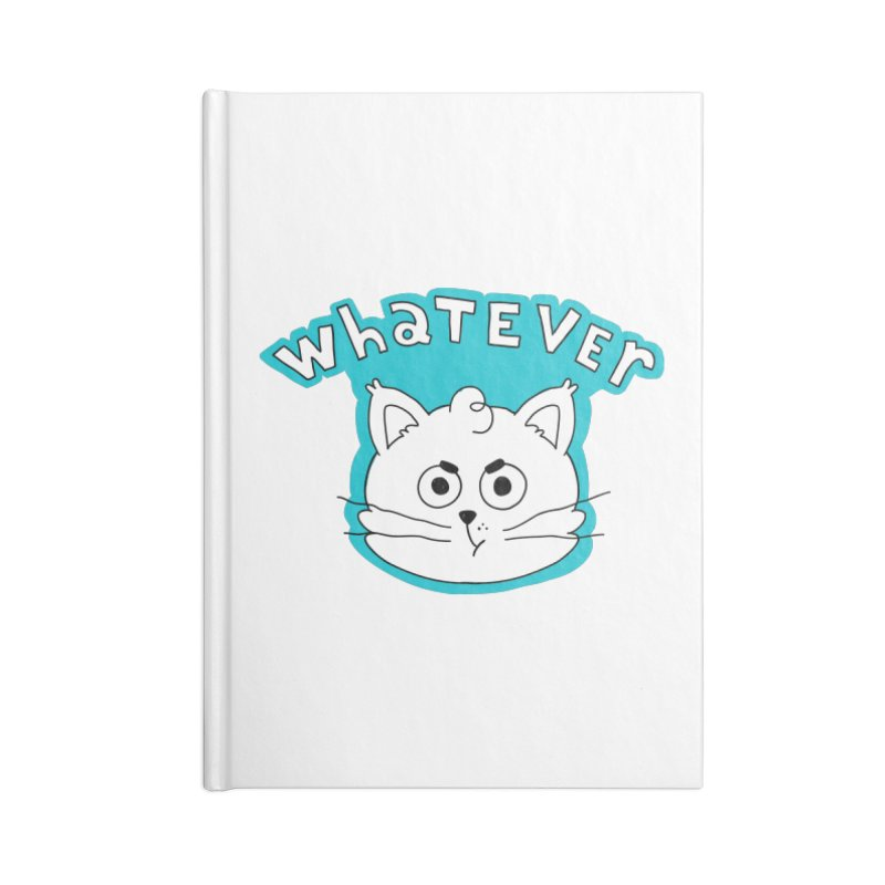 This cat does not care. Accessories Lined Journal Notebook by Alpacaramba!