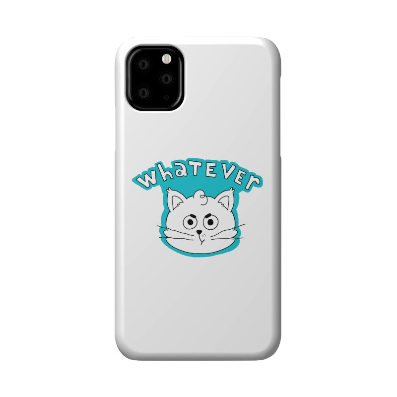 This cat does not care. Accessories Phone Case by Alpacaramba!