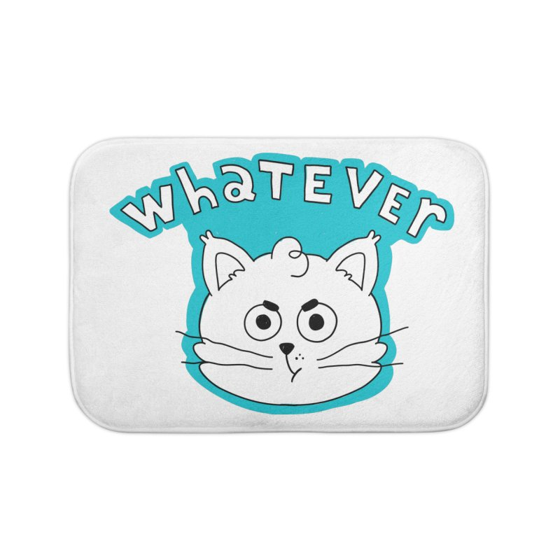 This cat does not care. Home Bath Mat by Alpacaramba!