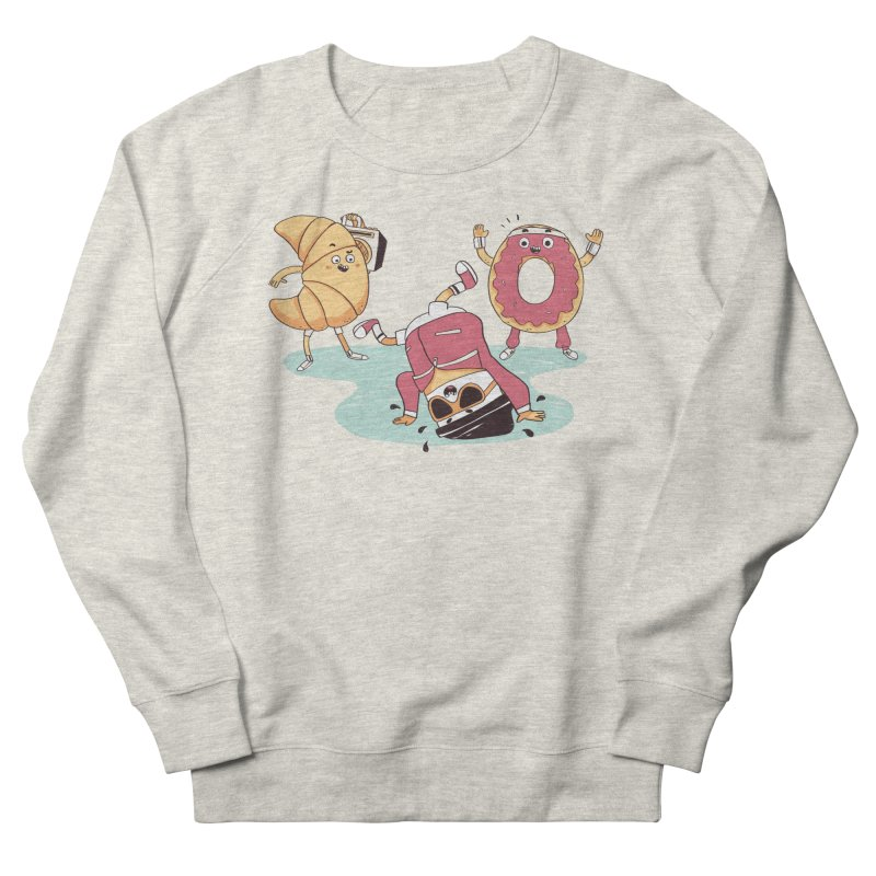 Coffee Break! Men's French Terry Sweatshirt by Alpacaramba!