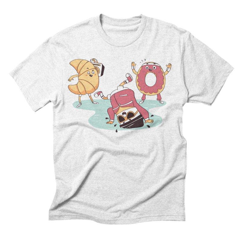 Coffee Break! Men's Triblend T-shirt by Alpacaramba!