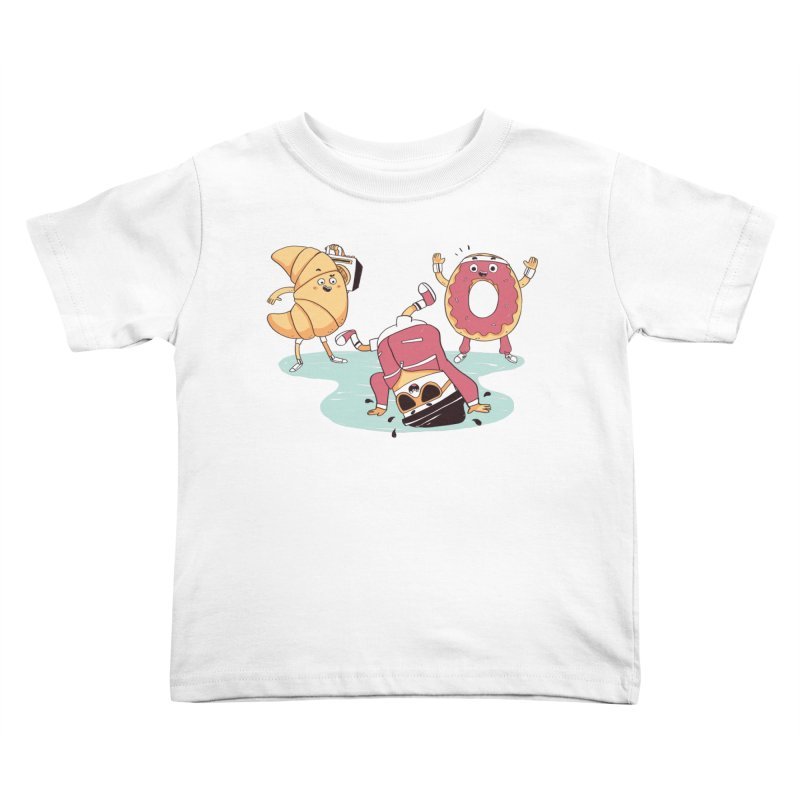 Coffee Break! Kids Toddler T-Shirt by Alpacaramba!