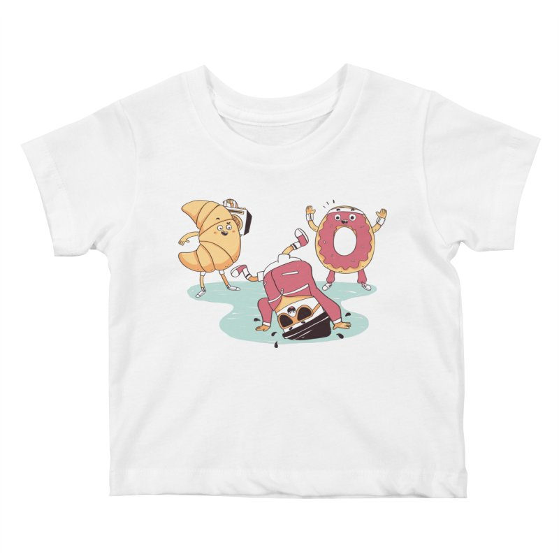 Coffee Break! Kids Baby T-Shirt by Alpacaramba!