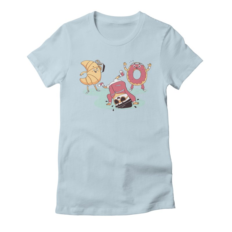Coffee Break! Women's T-Shirt by Alpacaramba!