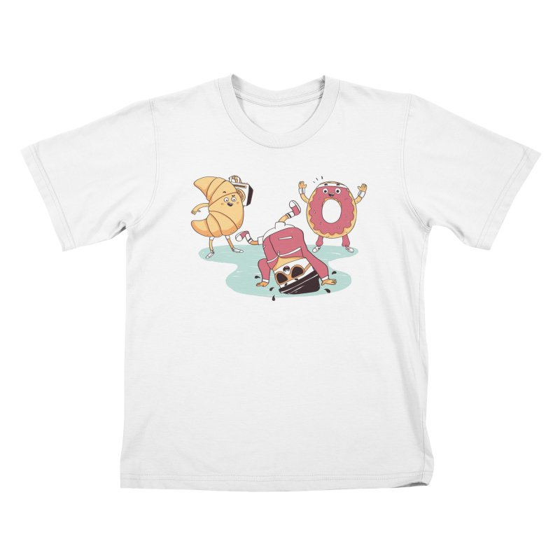 Coffee Break! Kids T-Shirt by Alpacaramba!