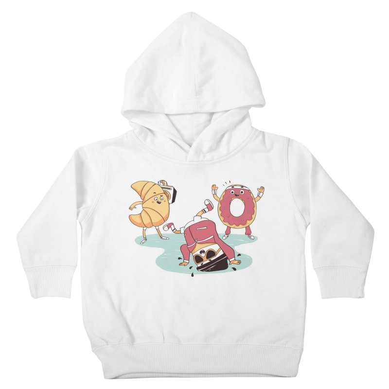 Coffee Break! Kids Toddler Pullover Hoody by Alpacaramba!