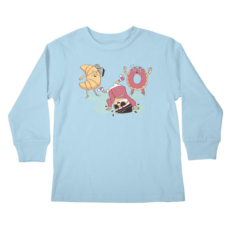 Coffee Break! Kids Longsleeve T-Shirt by Alpacaramba!