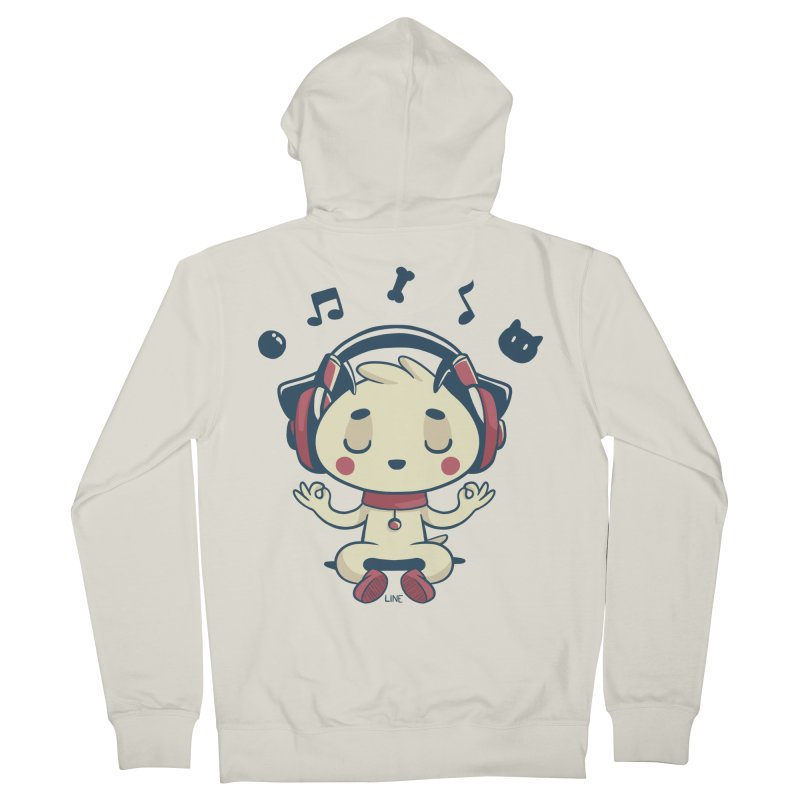 MUSIC IS FOR EVERYBODY! Women's Zip-Up Hoody by Alpacaramba!