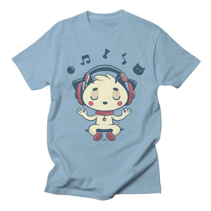 MUSIC IS FOR EVERYBODY! Men's Regular T-Shirt by Alpacaramba!