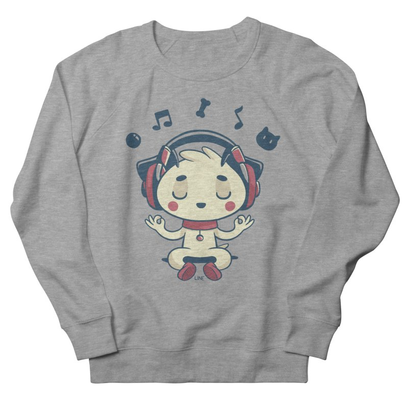 MUSIC IS FOR EVERYBODY! Women's French Terry Sweatshirt by Alpacaramba!