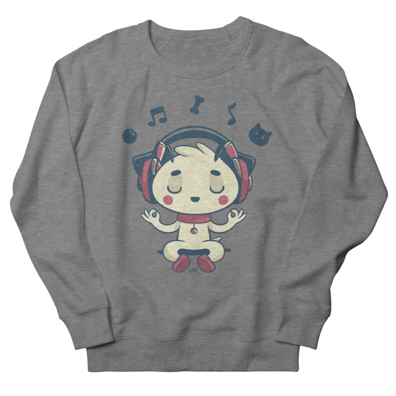 MUSIC IS FOR EVERYBODY! Men's French Terry Sweatshirt by Alpacaramba!