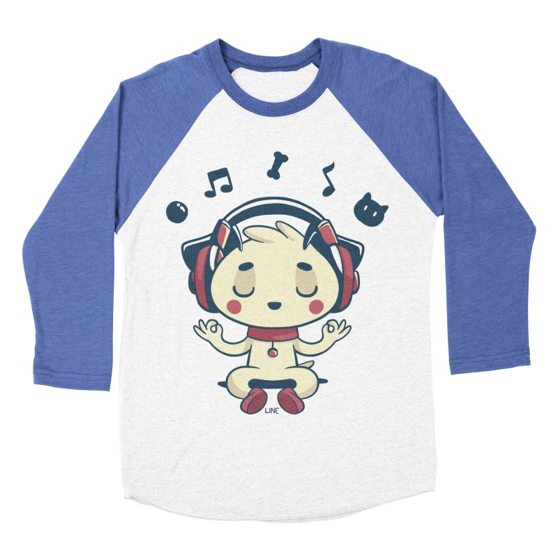MUSIC IS FOR EVERYBODY! Women's Baseball Triblend Longsleeve T-Shirt by Alpacaramba!