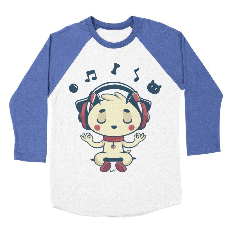 MUSIC IS FOR EVERYBODY! Men's Baseball Triblend Longsleeve T-Shirt by Alpacaramba!