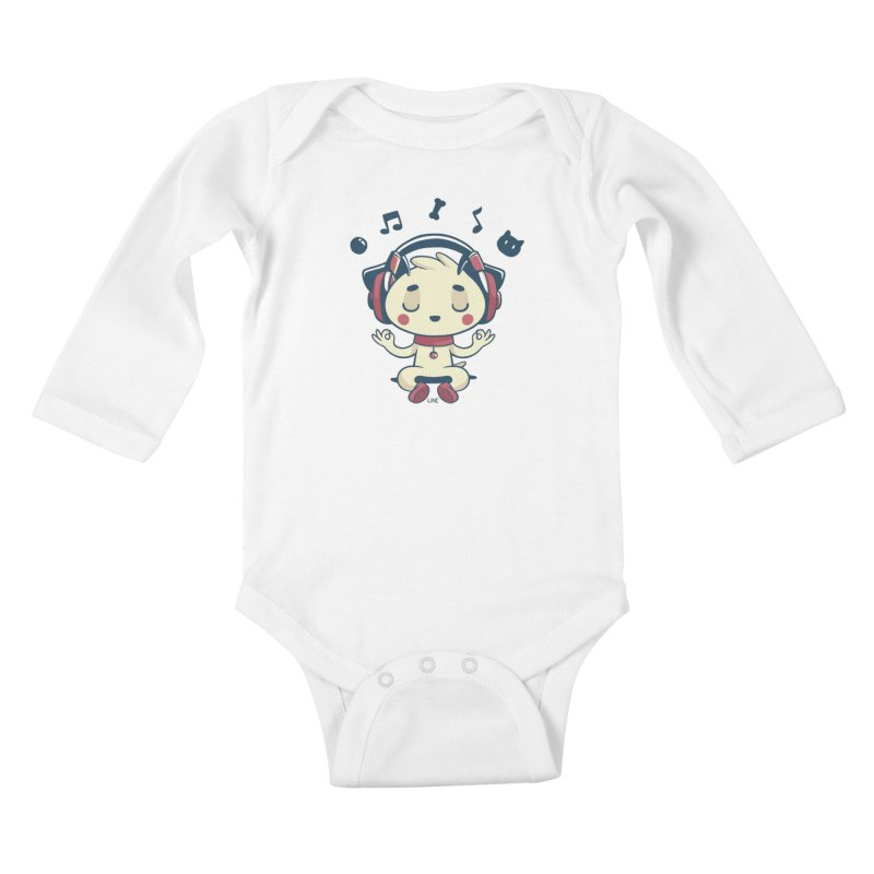 MUSIC IS FOR EVERYBODY! Kids Baby Longsleeve Bodysuit by Alpacaramba!